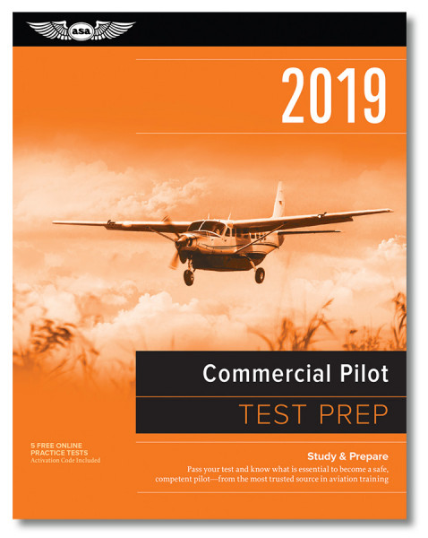 Test Prep 2019: Commercial Pilot (Buch)