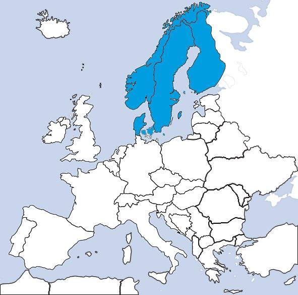 JeppView IFR: SCA Skandinavien