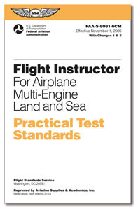 Practical Test Standards: Flight Instructor (Multi-Engine)