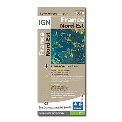 ICAO-Karte Frankreich: Nordost (2020) - (Vorbestellung)