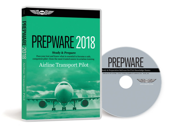 Prepware Airline Transport Pilot 2018