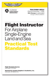 Practical Test Standards: Flight Instructor (Single-Engine)
