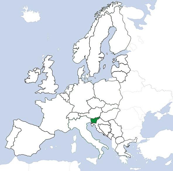 JeppView VFR: Slovenien