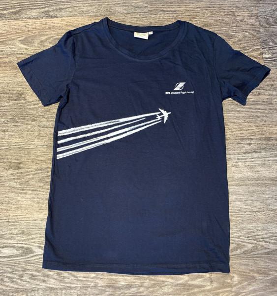 DFS Merch T-Shirt Herren mit Motiv Flugspuren