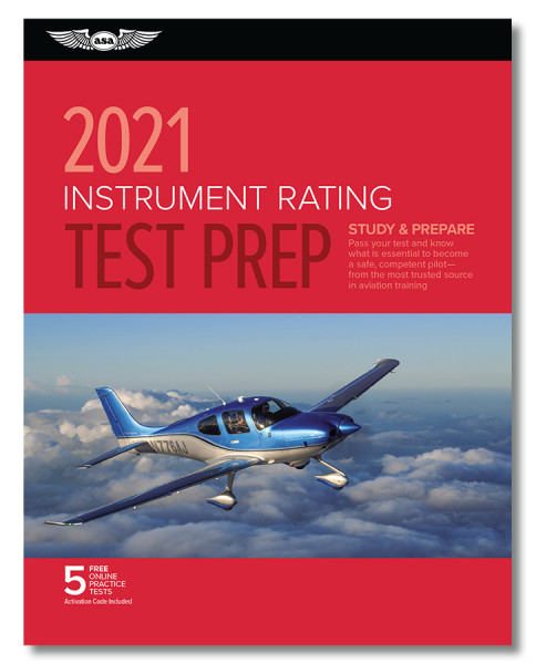 Test Prep 2021: Instrument Rating (Buch)
