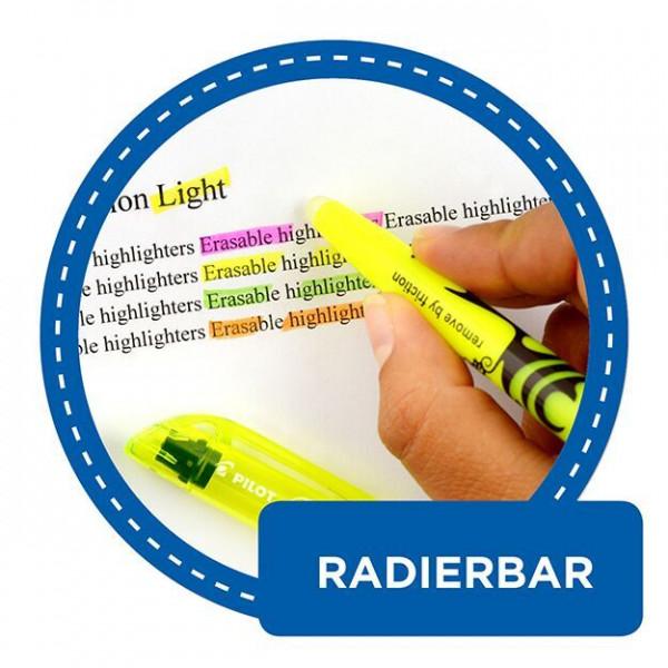 Fixion Highlighting Marker Farbübersicht radierbar