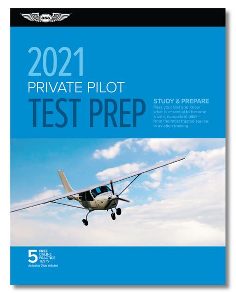 Test Prep 2021: Private Pilot (Buch)