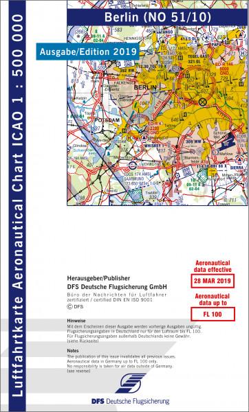ICAO-Karte, Blatt Berlin (Ausgabe 2019), Motorflug 1:500.000