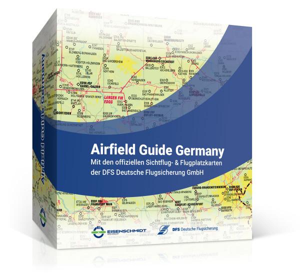 Airfield Guide Germany Sichtflugkarten Flugplatzkarte Deutschland Flugplatz-Taschenbuch Fliegertaschenkalender