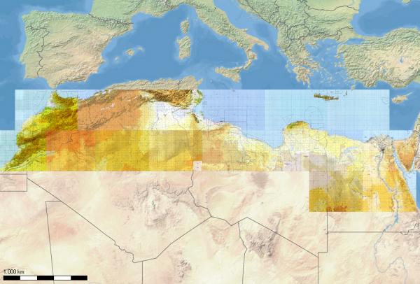 Flight Planner - TPC-Karten - Nord Afrika