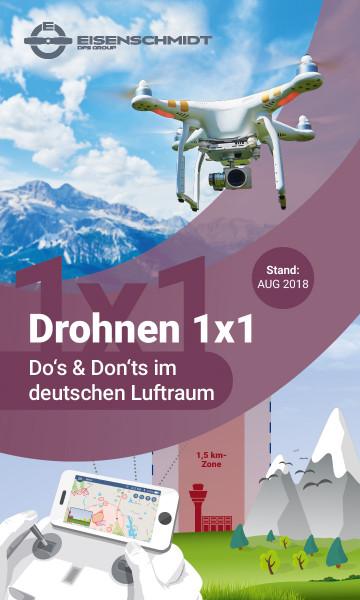 Drohnenflug-Poster_Drohnen 1x1_Do's and Don'ts im deutschen Lufttraum