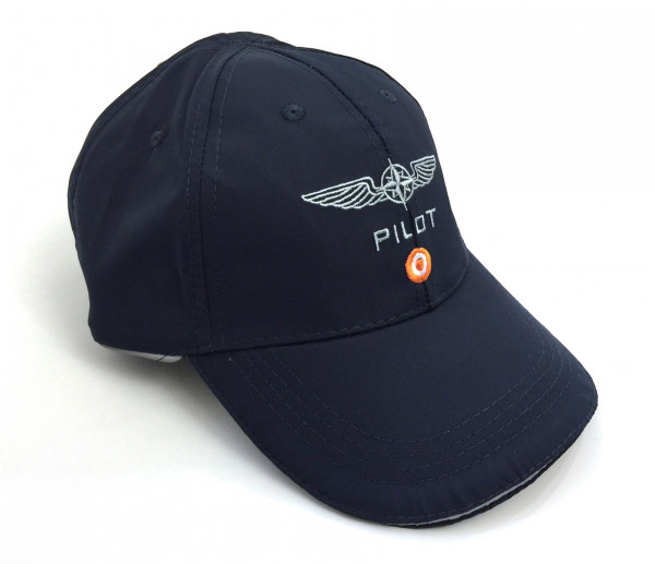 Design for Pilots Cap Front
