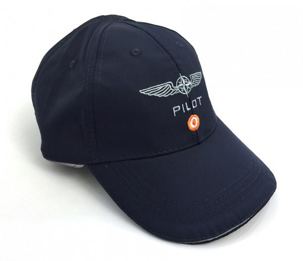 Design for Pilots Cap Front