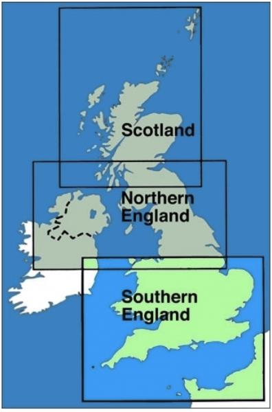ICAO-Karte Großbritannien: Südengland + Wales (Ausgabe 2020 )