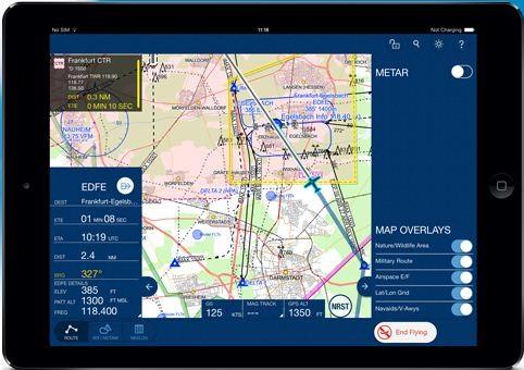 Mobile FliteDeck VFR - Frankreich (Abo)