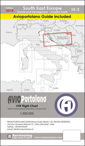 AVIOportolano Aerotouring VFR Flight Bosnia-Herzegovina-South Croatia (SE-2)