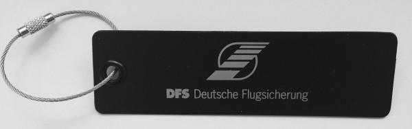 Plastikanhänger DFS Pilot Line