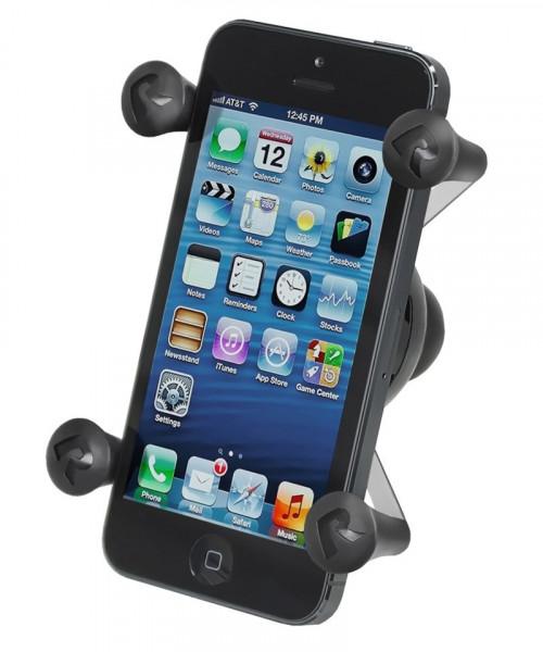 RAM MOUNT Universal X-Grip Halteklammer für Smartphones mit 1-Zoll Kugel (RAM-HOL-UN7BU)