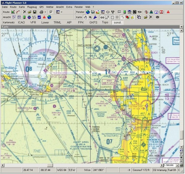 Flight Planner - USA Sectional Charts