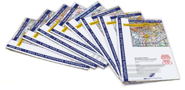 Karten-Set ICAO Deutschland