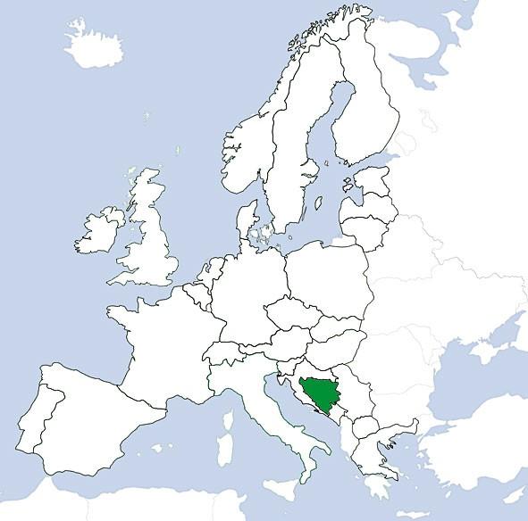 JeppView VFR: Bosnien/Herzegovina