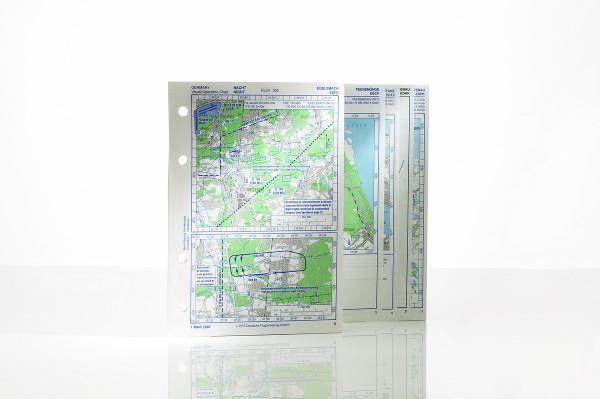Sichtflug- und Flugplatzkarten