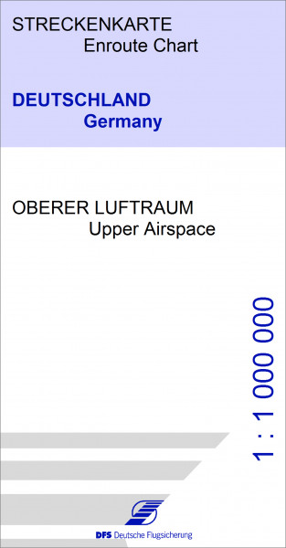 IFR-Streckenkarte DFS Oberer Luftraum