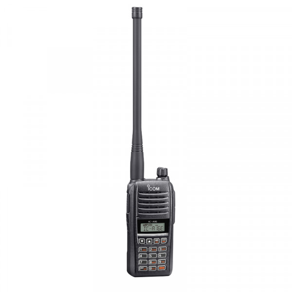 ICOM Flugfunkgerät IC-A16E (mit COM Kanäle) V12, mit Bluetooth®