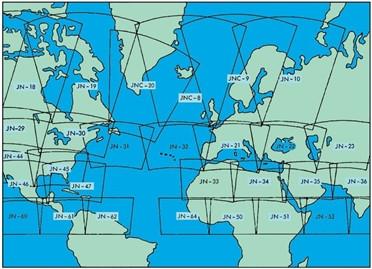 JNC Jet Navigation Chart