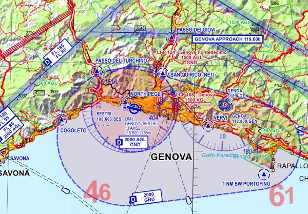 Visual 500 - Italien für Flight Planner