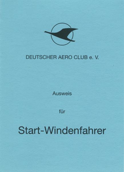 Ausweis für Startwindenfahrer