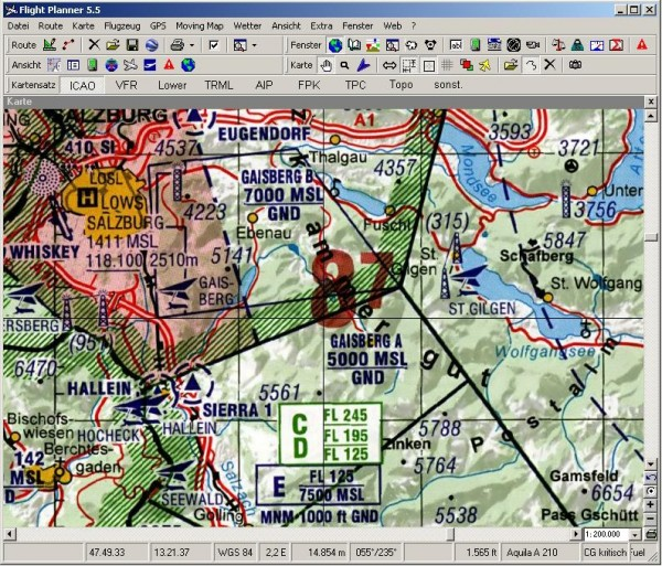 Flight Planner - Visual 500 - Spain