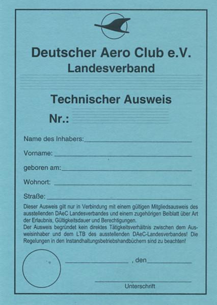 Technischer Ausweis