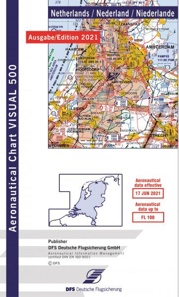 Visual 500 Netherlands (Ausgabe 2021) (Vorbestellung)