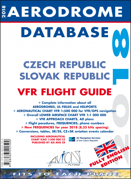 Aerodrome Database 2018 Czech Slovak Republic