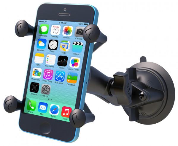 SET: X-Grip mit Saugfusshalterung für Smartphones RAM MOUNTS