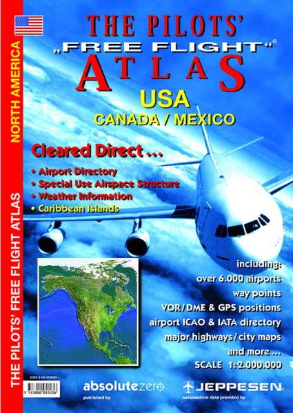 Pilot`s Free Flight Atlas USA