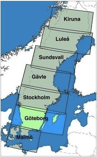ICAO-Karte Schweden: Göteborg (Ausgabe 2020)