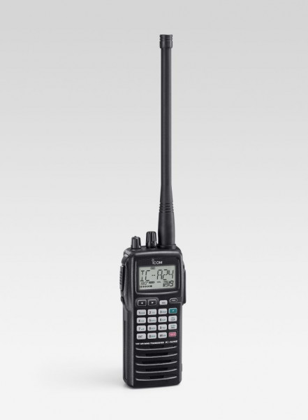 ICOM Handfunkgerät IC-A24E mit VOR (8,33kHz)