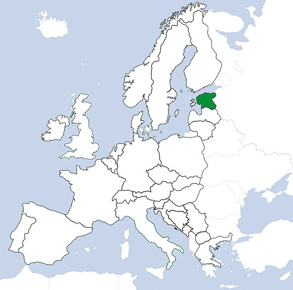 JeppView VFR: Estland