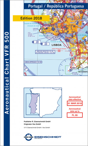 VFR 500 Portugal (Ausgabe 2018/19)