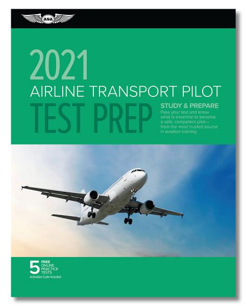 Test Prep 2021: Airline Transport Pilot (Buch)