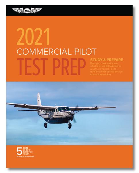 Test Prep 2021: Commercial Pilot (Buch)