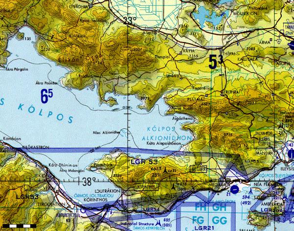 TPC-Karten - Südamerika für Flight Planner