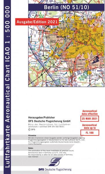ICAO-Karte, Blatt Berlin (Ausgabe 2021), Motorflug 1:500.000