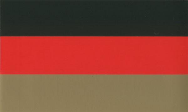 Bundesflagge Deutschland - Aufkleber