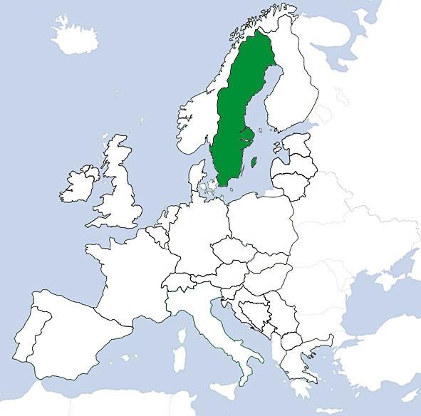 JeppView VFR: Schweden