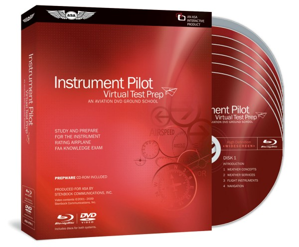 Virtual Test Prep - Instrument Pilot (Blu-ray)