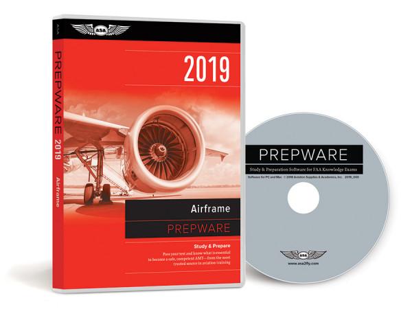 Prepware 2019: AMT Airframe (Software, DVD)