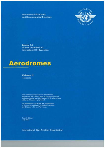 Annex 14 Aerodromes - Volume II (Heliports)